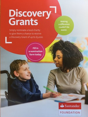 Santander Foundation Grant
